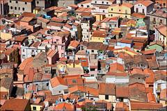 bosa (heavenuphere) Tags: bosa oristano sardegna sardinia sardinie italia italy europe island colourful houses architecture roof rooftops view 24105mm