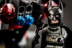 Batman (flamelab.de) Tags: city macro car studio miniature lego battle scene figure batman minifigure batmobil