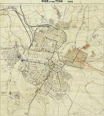 Map of Tula of 1933 (Artur (RUS) Potosi) Tags: old map retro 1933 tula