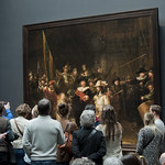 """The Night Watch"" at Rijksmuseum • <a style=""font-size:0.8em;"" href=""http://www.flickr.com/photos/28211982@N07/16578716989/"" target=""_blank"">View on Flickr</a>"