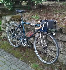 The mountainhack in rando configuration (Tysasi) Tags: photostream trek 820 820b randonneur randonneuse bike 650b minrando bag berthoud rackcollection bike05 bagsracks orcrack orcracks customrack customracks