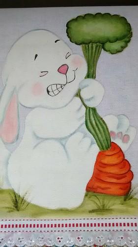 Coelho  e a cenoura