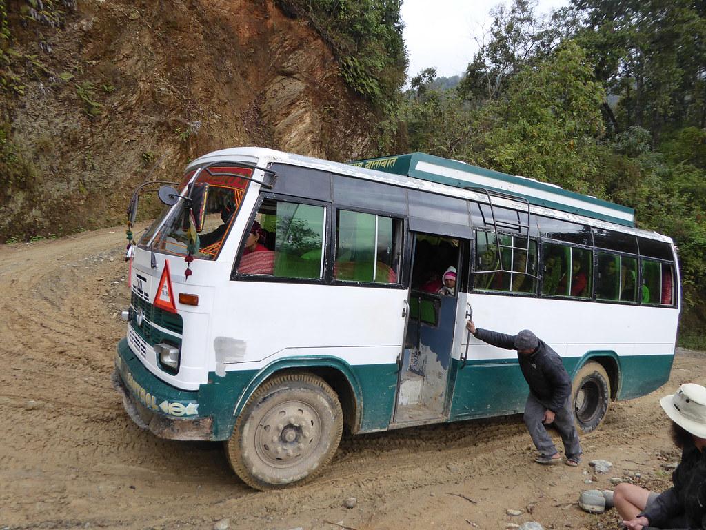 Stuck bus