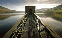 Talybont Reservoir ( 23 March 15 explored ) (c.richard) Tags: reflection sunshine wales spring walks walk reservoir breconbeacons sigma1020mm