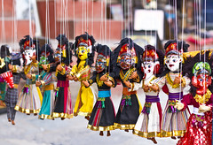 Nepalese Puppets hanging in shop (Sagar Simkhada) Tags: wood shop mask display god culture puppets ganesh kathmandu handcraft thamel durbarsquare 2015 basantapur newari nepalidress nepalesepuppets sagarsimkhada