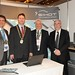 Showtel Roger McDermott, David Warren & Garth McFarlane, SIHOT and Stephen McNally, IHF President