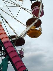 Tip Top Rides Mulligan Ferris Wheel. (dccradio) Tags: carnival wheel wisconsin fun cloudy overcast rapids entertainment ferriswheel rides wi amusements tiptop giantwheel carnivalrides amusementrides springcarnival communityevent thrillrides wisconsinrapids fairrides amusementdevice mechanicalrides rapidsmall mulliganwheel tiptopcarnival tiptopridesandattractions