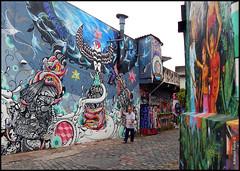 Beco do Batman (So Paulo Ilustrada - Por Adriana Paiva) Tags: graffiti sopaulo urbanart vilamadalena binho arteurbana feik urbanwalls highraff blogadrinascidades