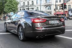 Switzerland (Valais) - Maserati Quattroporte S Q4 (PrincepsLS) Tags: berlin germany switzerland swiss plate s license vs wallis maserati spotting valais quattroporte q4