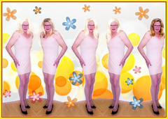 Thank you to Neo Blue for this yellow psychedelic explosion! (donnacd) Tags: glasses tv beige pumps dress legs cd crossdressing dressing blouse tgirl nails sissy tranny heels neo tight miniskirt crossdresser crossdress ts crossed domina feminization travesti feminized xdresser transgenre tgurl