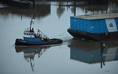 Storm Breeze (drmack2) Tags: new westminster bc arm north tugboat fraser ledcor