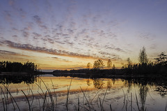 IMG_3322_1080h (cls-70) Tags: sunset lake reflection clouds solnedgng sj moln oskarshamn spegling smlten