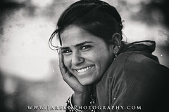 Beautiful Girl - 2014 - Pushcar, Rajasthan, India (JarekN Photography) Tags: india pushkar rajasthan