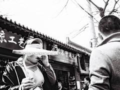 Beijing (Devlin Cook) Tags: china street leica film yellow photo kodak candid 28mm trix grain beijing 1600 filter pushed grainisgood m6 elmarit