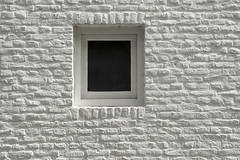 White window, white wall (Jan van der Wolf) Tags: window monochrome wall maastricht bricks minimalism minimalistic raam muur stenen monochroom bakstenen map154324v