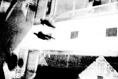 higher grounds (Lamson Noswen (c'lamson)) Tags: blackandwhite bw abstract texture mall levels lamson highergrounds