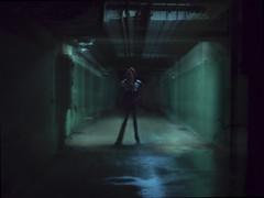 VULTURKULTUR (Ulvraith) Tags: man abandoned silhouette hospital dark underground sony lofi poland passage a500