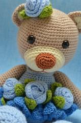 Bibi (Lenekie) Tags: bear toy teddy crochet amigurumi