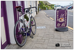 20160526_Ireland_DSC0475 (derekcleggv4) Tags: ireland coffee bicycle cafe coffeeshop connemara ie cannondale leenane synapse countygalway
