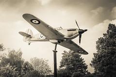full scale model Hurricane  Windsor (Da Capo Dance) Tags: ww2 fighter plane hurricane