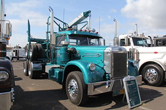 ATHS National 2016 (19) (RyanP77) Tags: aths truck show salem oregon peterbilt kw kenworth logger cabover pete freightliner marmon dump semi
