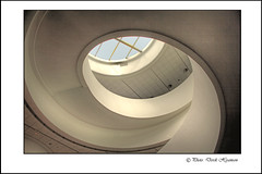 STAIRWELL IN  MUSEUM (Derek Hyamson) Tags: museum liverpool spiral waterfront stairwell hdr rooflight