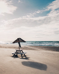 we wander for distraction, but we travel for fulfillment (erikvonotto) Tags: travel beach strand warnemnde fuji balticsea explore ostsee rostock x100t