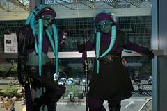 Phoenix Comicon 2016 Cosplay (V Threepio) Tags: female costume outfit cosplay turquoise pirates posing bodypaint aliens chick squid cosplayer tentacles clonewars aliengirl 2016 attackoftheclones phoenixcomicon nautolan phxcc forcegirls sonya6000 amberbrite byrningraven