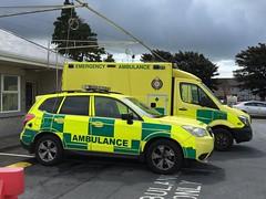 HSE / National Ambulance Service - Subaru Rapid Response Vehicle - UL Hospital Ennis Ireland (firehouse.ie) Tags: rescue ambulance medical health national vehicle service emergency executive ems emt nas services hse ambulancia ambulanza rrv