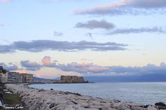 IMG_2879 (atrialbyfire) Tags: napoli naples italy italia skyline sky clouds cloud gabbiano gabbiani seagull mre sea cielo nuvole golfo