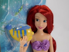 2016 Ariel Classic 12'' Doll - US Disney Store Purchase - Deboxing - Cover Off - Portrait Left Front View (drj1828) Tags: disneystore doll 12inch classicprincessdollcollection 2016 ariel flounder purchase deboxing