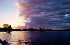 56 (_T_Willi_95) Tags: sunset summer usa lake nature beautiful night canon outdoors boat americanflag edits photograghy lakeorion canont3i rebelt3i