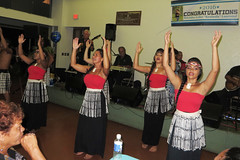 Maori wahine hula (BarryFackler) Tags: party people island hawaii polynesia keyboard dancing guitar stage hula banner indoor celebration event tropical microphone bigisland maori speakers amps kona waterbottle graduationparty highschoolgraduation polynesian wahine holualoa 2016 specialoccasion hawaiianislands huladancers huladancing hawaiicounty hawaiianculture sandwichislands westhawaii northkona saleisha konaimincenter saleishasgraduationparty saleishaleleekealaulalauronal