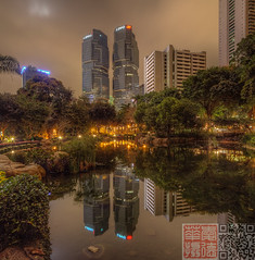 hkp2 (Edward Ha) Tags: canon hongkong nightscene   lippocentre admiralty hongkongpark