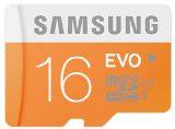 #3: Samsung MB-MP16D/EU Scheda Micro SD HC EVO, UHS-1, Classe 10, 16GB, Bianco/Arancio (siglecartoni) Tags: samsung micro classe scheda 16gb biancoarancio uhs1 mbmp16deu