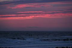 Vlissingen (Therapics) Tags: sunset beach clouds canon landscape eos nederland noordzee vlissingen westerschelde 600d