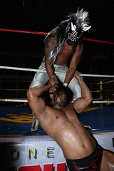 446A4197 (Black Terry Jr) Tags: mask wrestling sombra rush lucha libre trauma guerrero mascaras luchas cmll