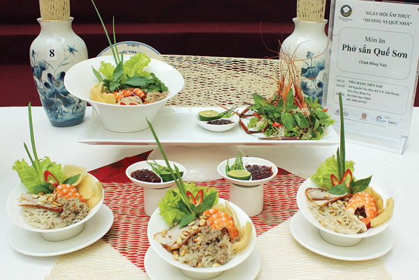 Món ăn hấp dẫn này đã trở thành một trong những đặc sản xứ Quảng