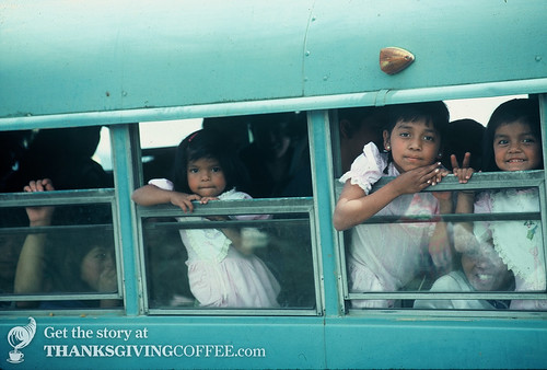 Children Say Hello in Guatemala