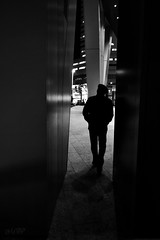 stranger in the night (~ Mariana ~) Tags: city friends light urban bw calgary nikon mariana travelsofhomerodyssey outstandingromanianphotographers marculescueugendreamsoflightportal