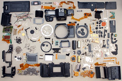 Ricoh XR-M Camera Disassembled / Teardown / Deconstruction (Robert D Bruce) Tags: camera 35mm deconstruct breakdown ricoh deconstruction disassembly teardown disassembled disassembling robertbruce cameraparts xrm robertdbruce robertdbrucecom robertbruceandassociatescom