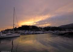 (Giorgio Crupi) Tags: italia tramonto mare liguria barche varazze