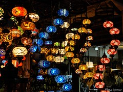 Colours and Lights (@mons.always) Tags: light lamp lights dubai colours hanging lantern colourful 2014