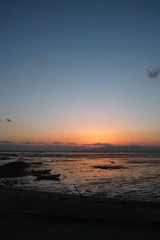 DP1M2272  Arao Tidal Flat Afterglow (Keishi Etoh rough-and-ready photoglaph) Tags: sigma dp1m foveon ariakebay araotidalflat    sunset dp1merrill kumamoto sigmadp1merrill dp1  arao