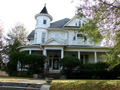 """1890's """"Heath House"""" Queen Anne with tower (vintrest) Tags: nov mississippi grenada 2014"""