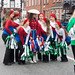 ST. PATRICK'S DAY IN DUBLIN BACKSTAGE BEFORE THE ACTUAL PARADE REF -102085