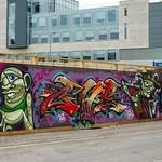Calton Rd Grafitti