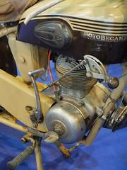 MOTOBECANE D45 S (1954) 125 cc (detail) (xavnco2) Tags: detail tank view kick engine 1954 motorbike part exposition moto bourse motobecane 125 arras motorrad moteur rservoir 2015 ravera d45 d45s monocylindre