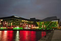 Bord Gais Energy Theatre, Grand Canal Dock, Dublin. (elevationair ) Tags: ireland dublin theatre grandcanal stpatricksday stpatricksfestival dublincity grandcanaldocks grandcanaltheatre greeningthecity bordgaisenergytheatre