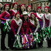 ST. PATRICK'S DAY IN DUBLIN BACKSTAGE BEFORE THE ACTUAL PARADE REF -102087